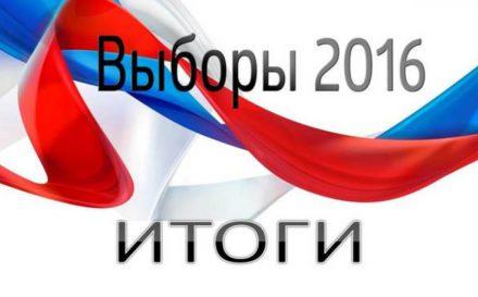 Итоги выборов 2016: Гос. Дума и ЗакС Санкт-Петербург